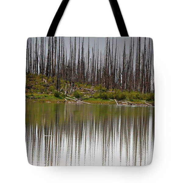 Summit Lake Tote Bag