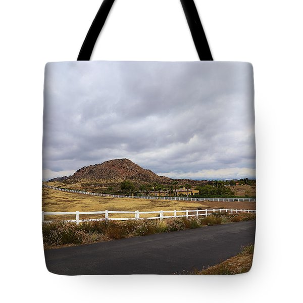 Summitville Street Temecula Tote Bag by Viktor Savchenko