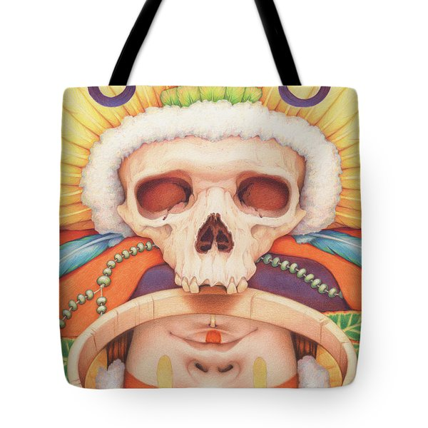 Summoning The Ancestors Tote Bag by Amy S Turner