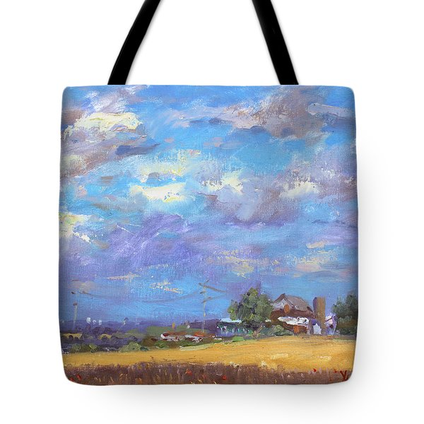 Sun And Clouds Georgetown  Tote Bag