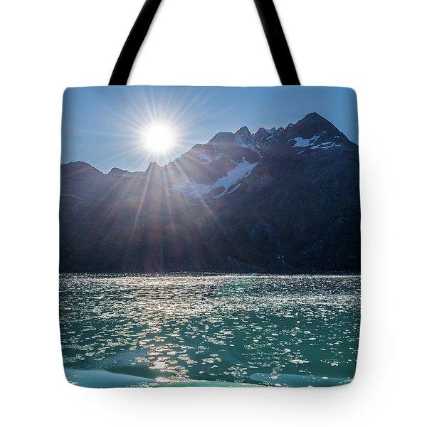Sunshine And Ice Tote Bag