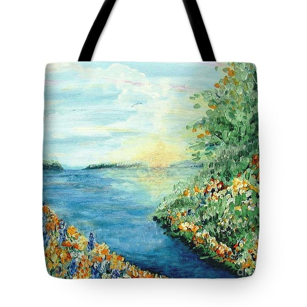Sun And Moon Tote Bag by Holly Carmichael