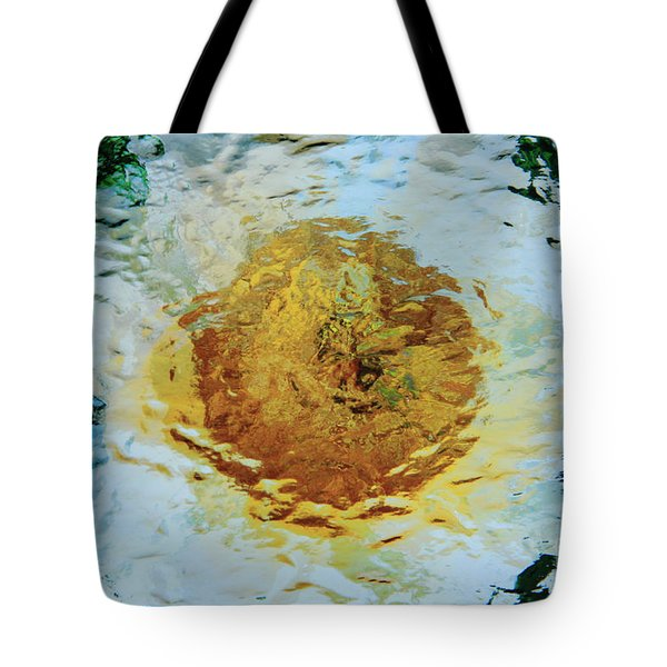 Sun And Moon Peony Impression Tote Bag by Jeanette French