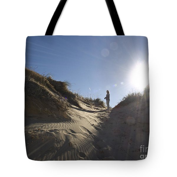Tote Bag featuring the photograph Sun And Sand  by Tara Lynn