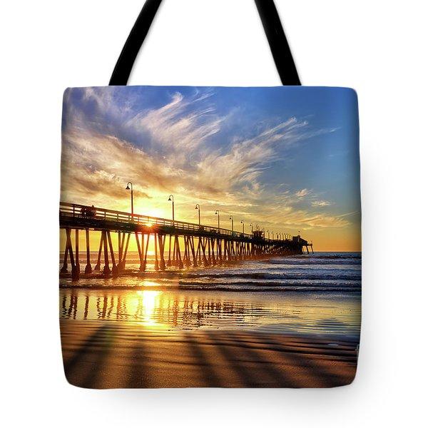 Sun And Shadows Tote Bag