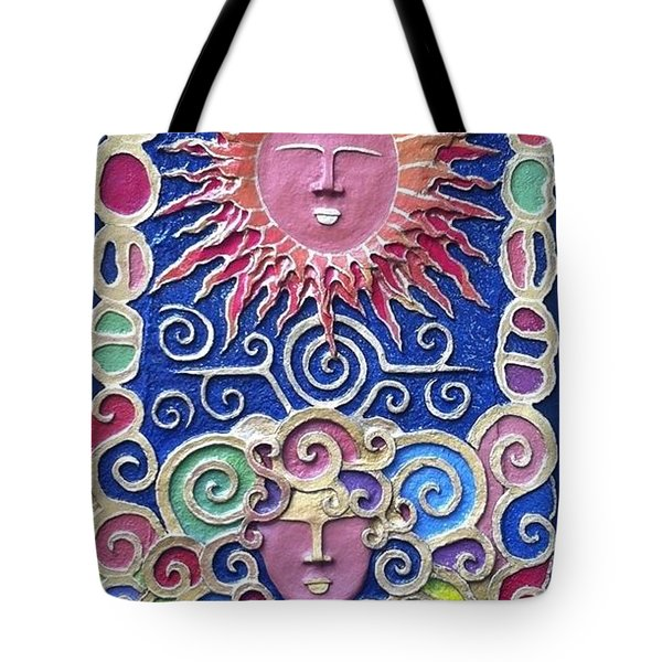 Sun And Wind 2 Tote Bag by Otil Rotcod