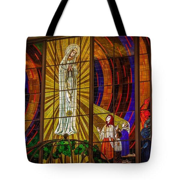 Sun At Fatima Tote Bag