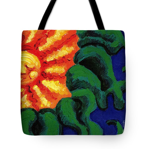 Sun Baby Tote Bag by Genevieve Esson