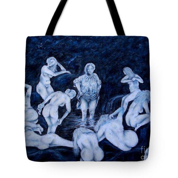Sun Bath Tote Bag