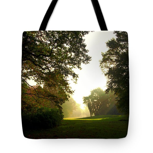 Sun Beams In The Distance Tote Bag