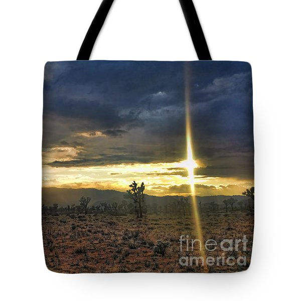 Sun Blade Tote Bag