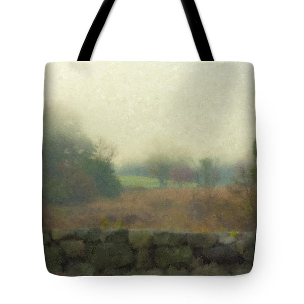 Sun Breaking Through Tote Bag