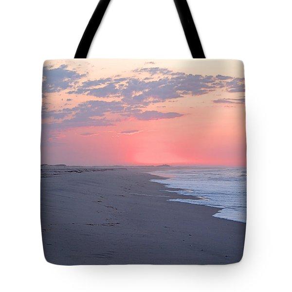 Sun Brightened Clouds Tote Bag
