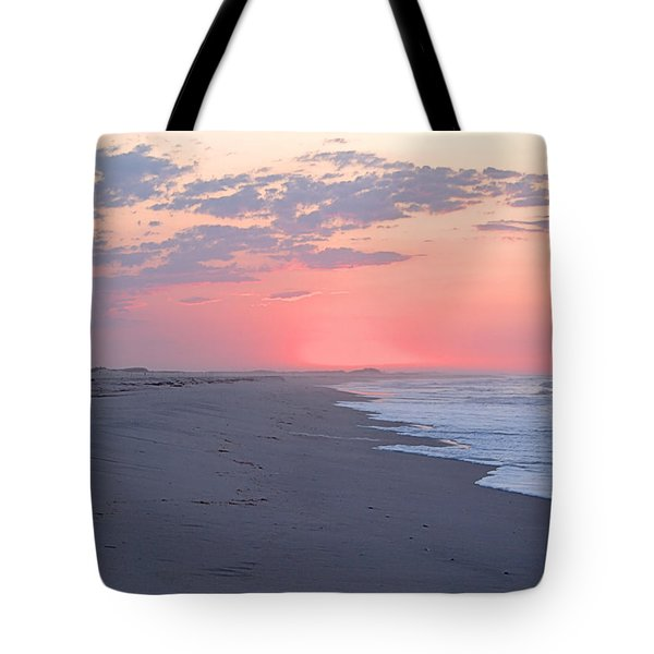 Sun Brightened Clouds Tote Bag