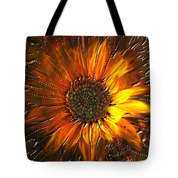 Sun Burst Tote Bag by Kevin Caudill