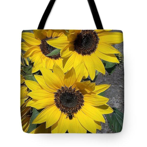 Sun Buzz Tote Bag