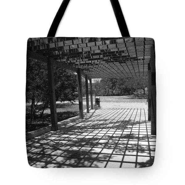Sun Checkerboard  Tote Bag