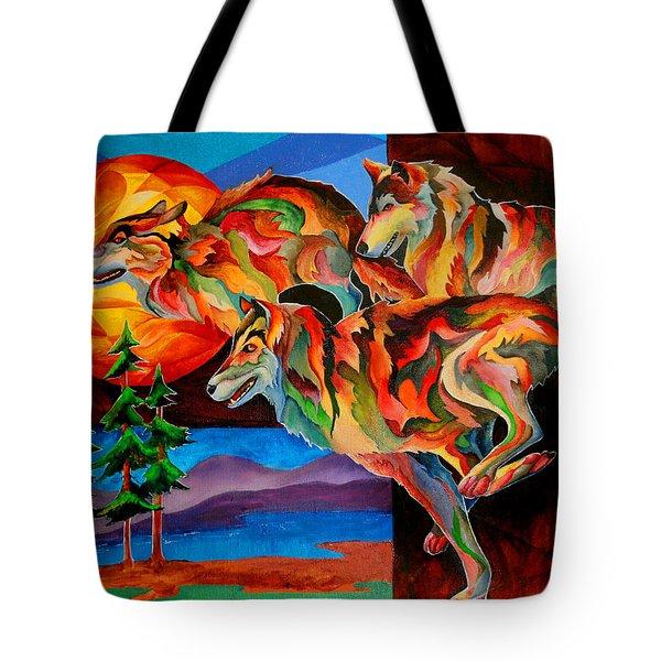 Sun Dance Tote Bag
