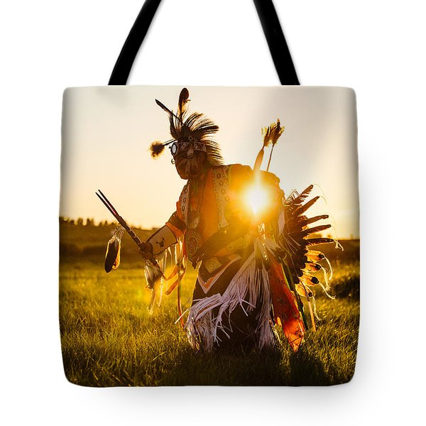 Tote Bag featuring the photograph Sun Dance by Todd Klassy