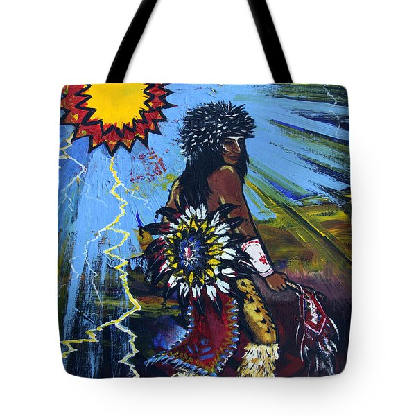 Sun Dancer Tote Bag by Karon Melillo DeVega