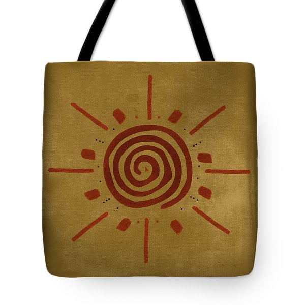Sun Dial Tote Bag