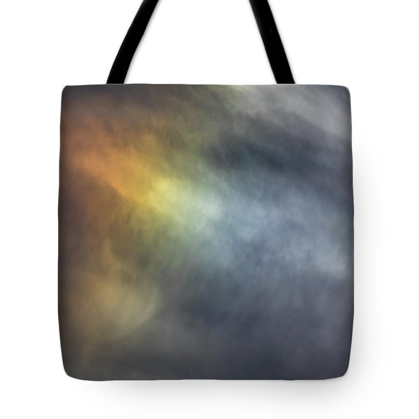 Tote Bag featuring the photograph Sun Dog 2017 by Thomas Young