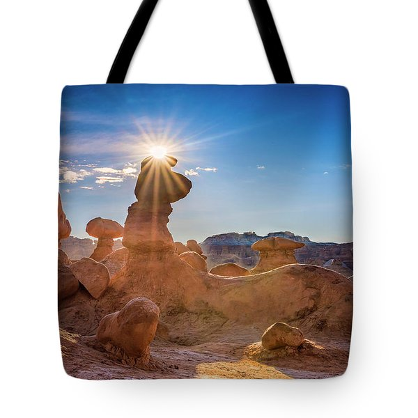 Sun Dog Tote Bag