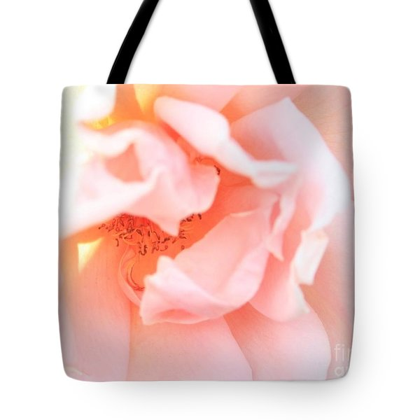 Sun-drenched Rose Tote Bag