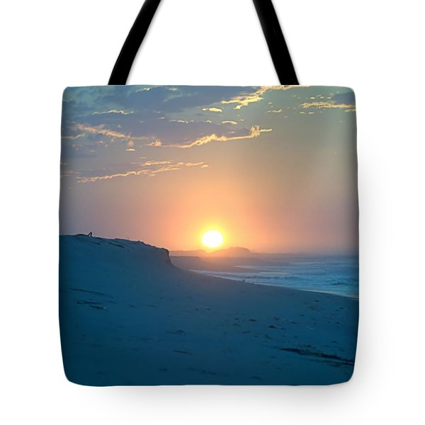 Tote Bag featuring the photograph Sun Dune by  Newwwman