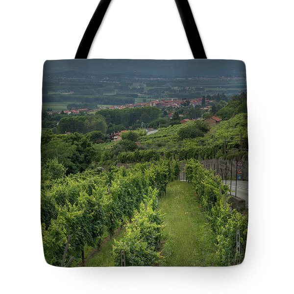 Sun Filtering Through The Clouds  Tote Bag