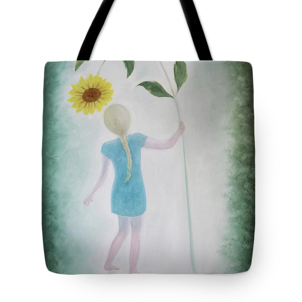 Sun Flower Dance Tote Bag by Tone Aanderaa