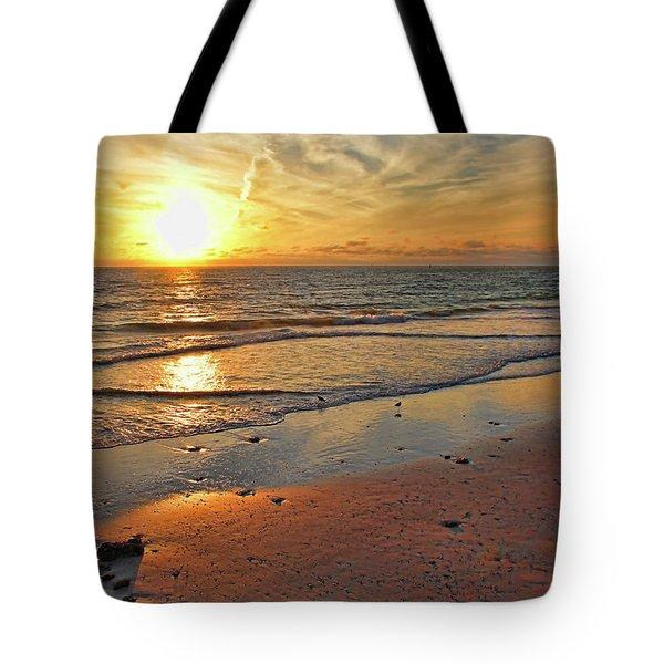 Sun Glow Tote Bag
