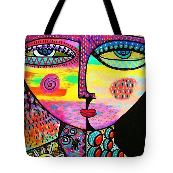 Sun Goddess Tote Bag