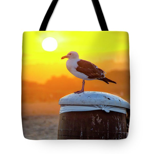 Sun Gull Tote Bag