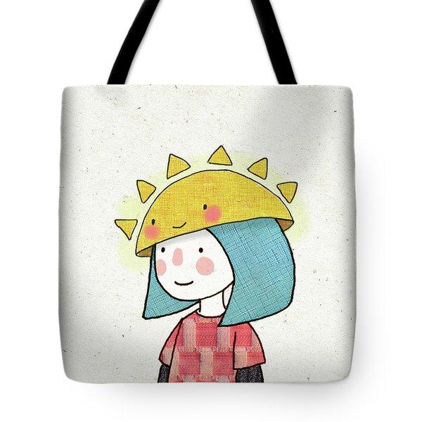 Sun Hat Tote Bag