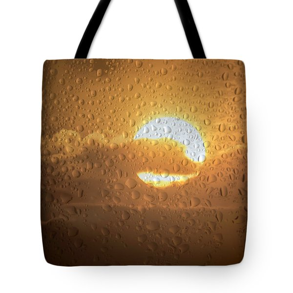 Sun Is Back Tote Bag