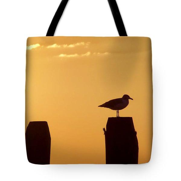 Sun Is Rising Tote Bag