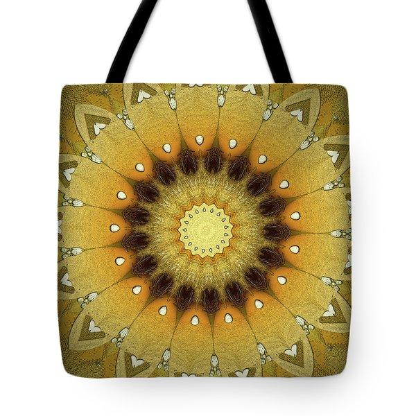 Sun Kaleidoscope Tote Bag