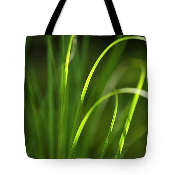 Sun-kissed Grass Tote Bag by Christina Rollo