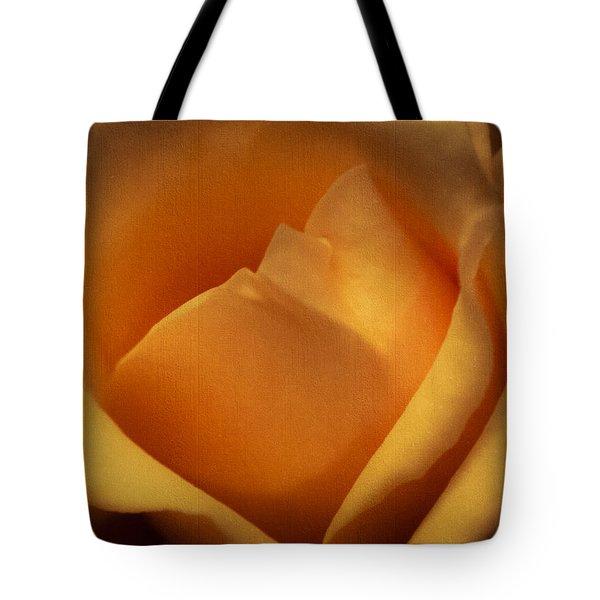 Sun-kissed Rose At Dusk Tote Bag