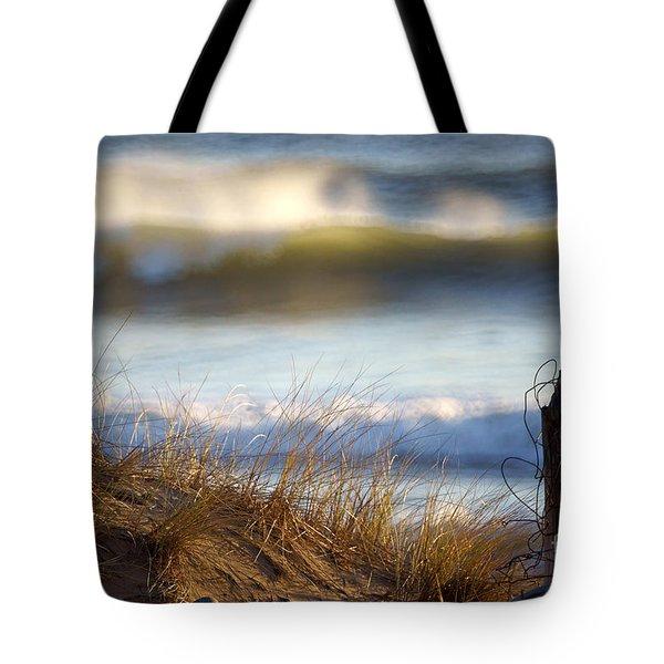 Sun Kissed Waves Tote Bag