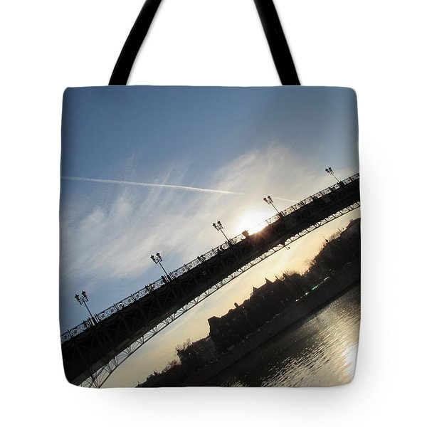 Sun Layers Tote Bag by Anna Yurasovsky