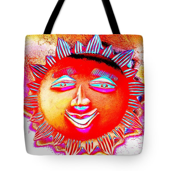 Tote Bag featuring the photograph Sun by M Diane Bonaparte