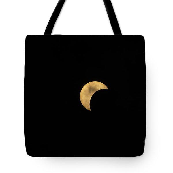 Sun Moon Clouds Tote Bag