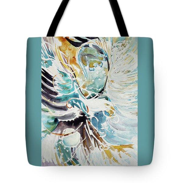Sun Moon Water Sky Tote Bag