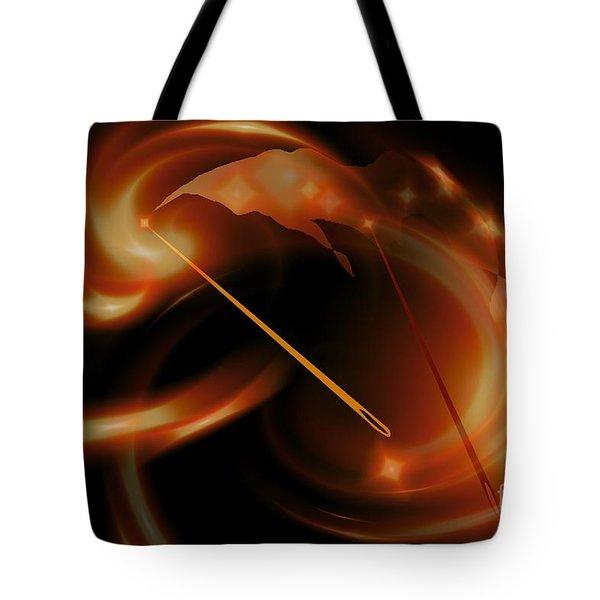 Sun Needles Tote Bag