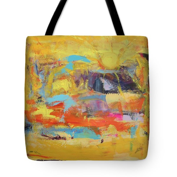 Sun Overlapping Tote Bag