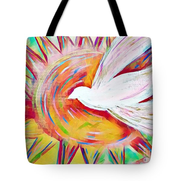Healing Wings Tote Bag