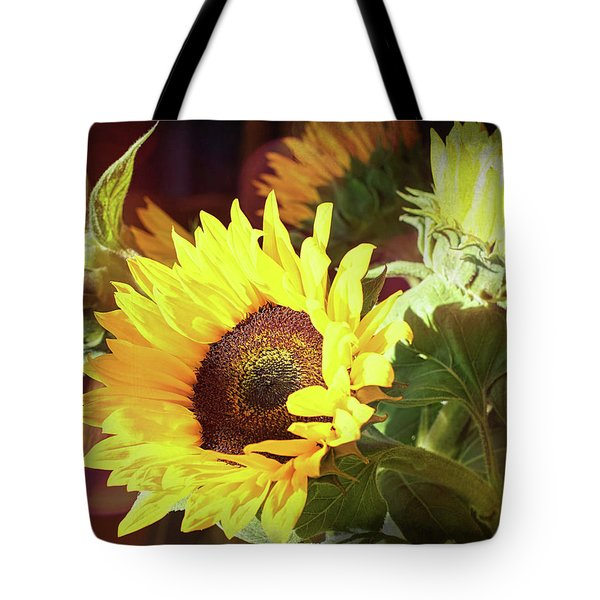 Tote Bag featuring the photograph Sun Of The Flower by Michael Hope