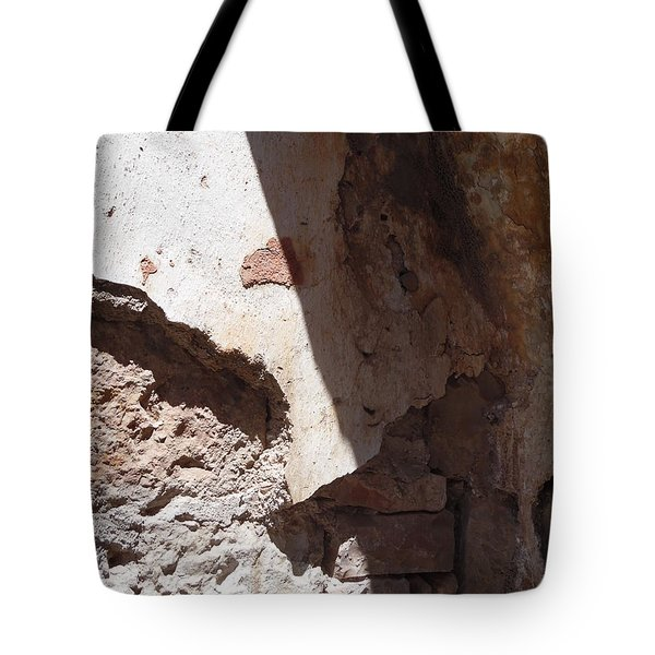 Tote Bag featuring the painting Sun On Stone by Esther Newman-Cohen